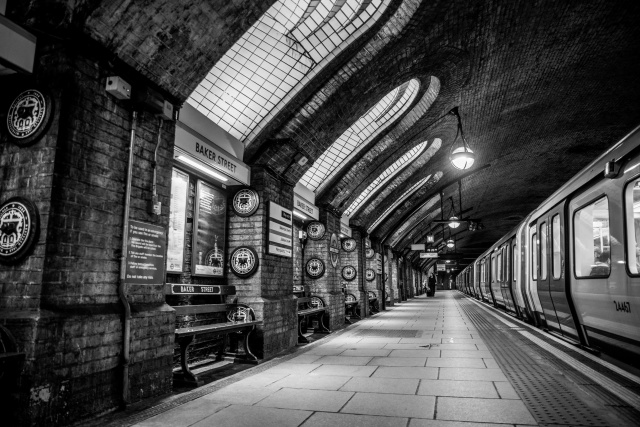 Winding your way down in Baker Street