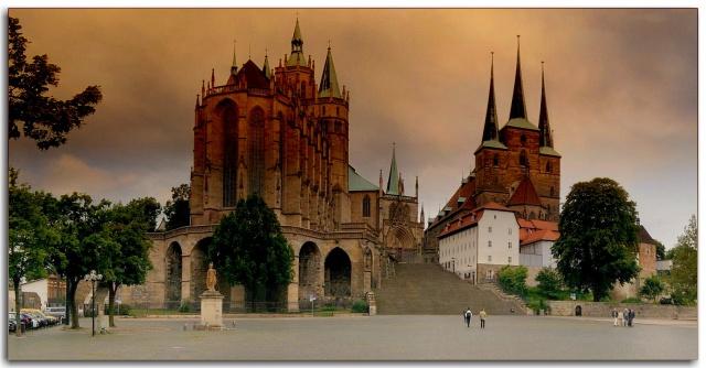 Panorama Münster Erfurt