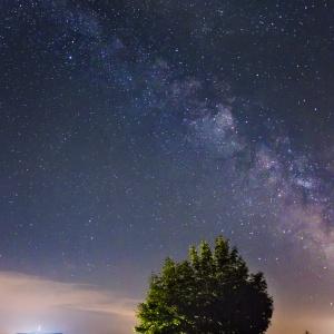 Stars over Hesselberg