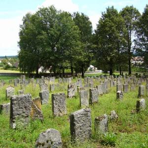 Teilansicht Israelitischer Friedhof