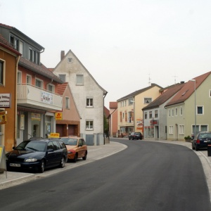 Blick in die Ansbacher Straße