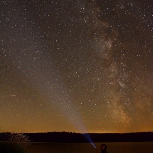 searching the milkyway