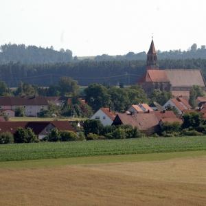 Koenigshofen mit Muenster