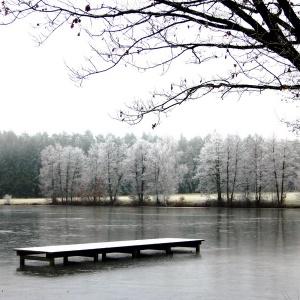 Krummweiher im Winter